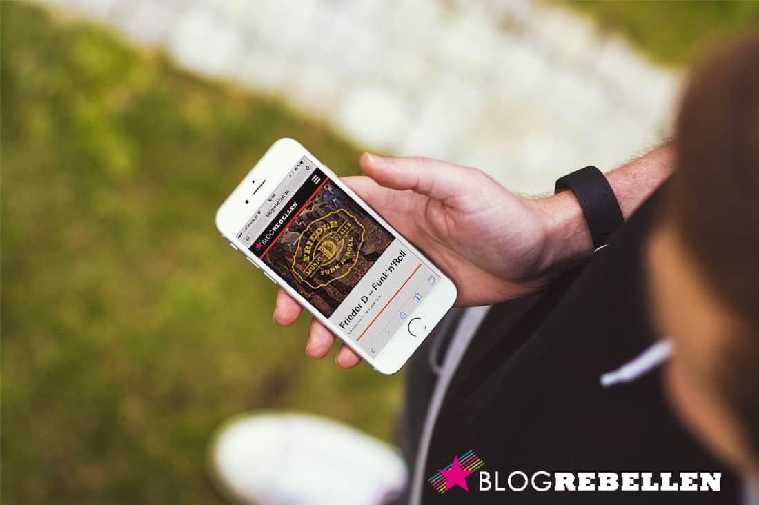 Frieder D – Funk'n'Roll // Blogrebellen