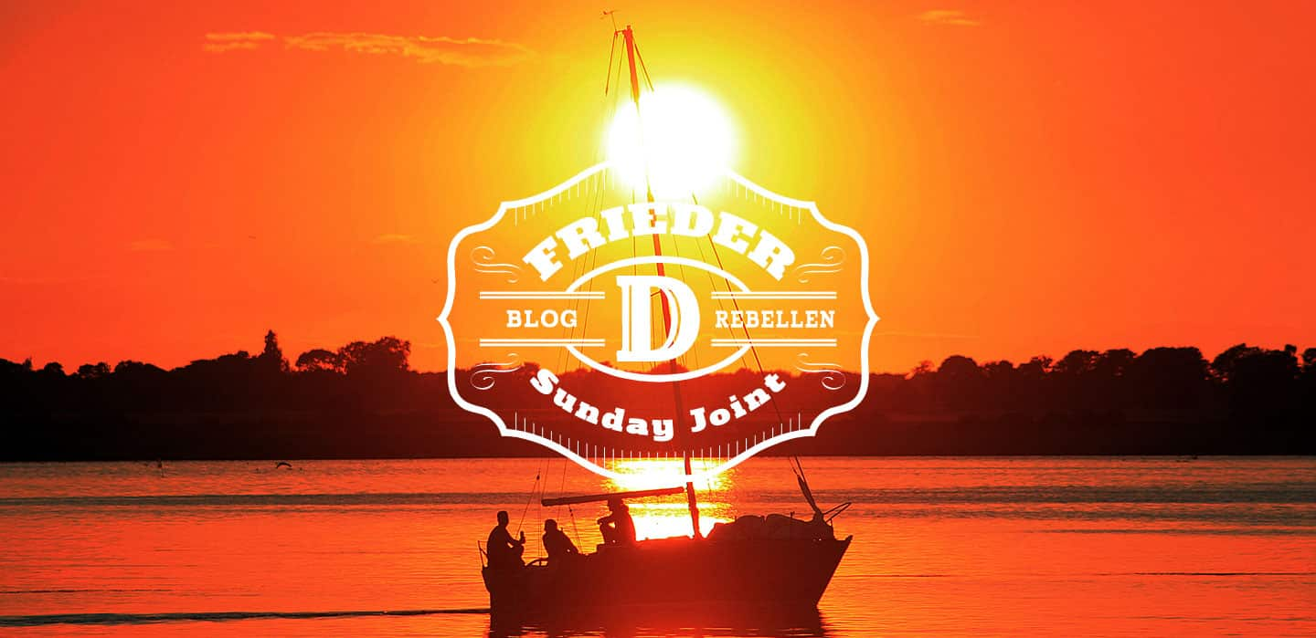 Sunday Joint von Frieder D // Blogrebellen