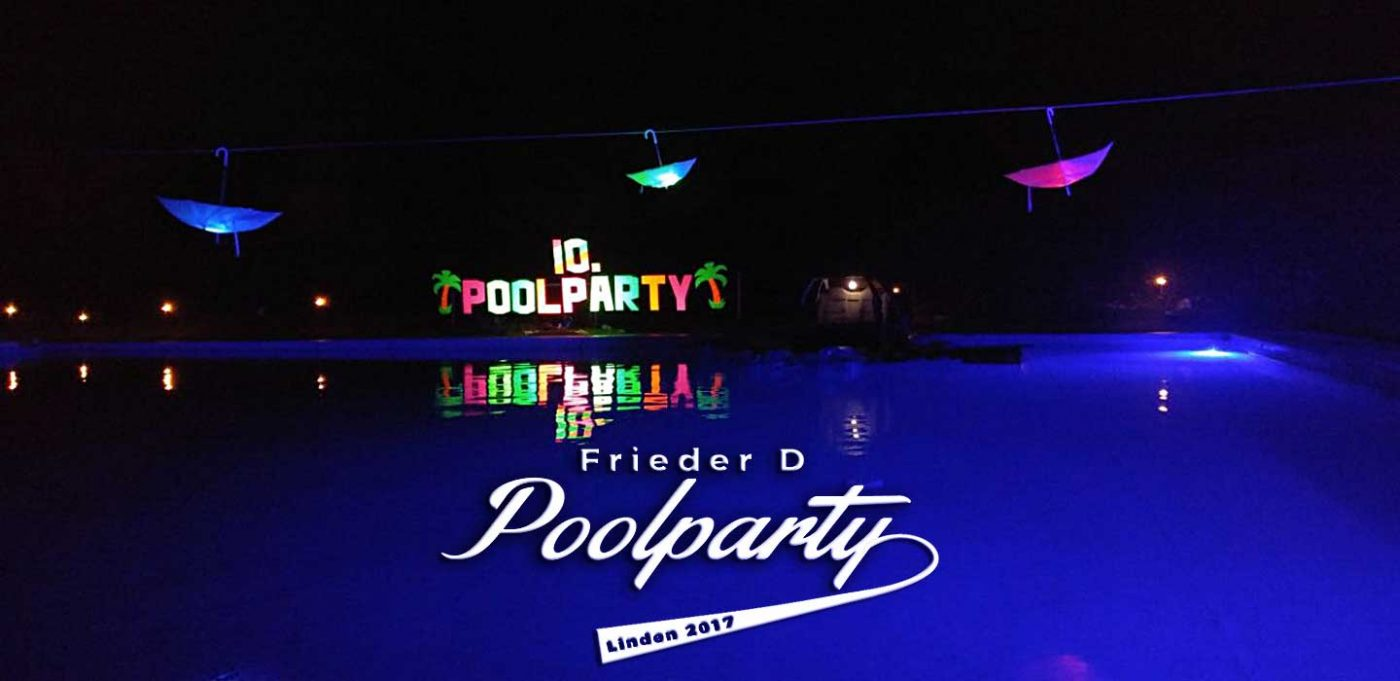 Poolparty Linden 2017 (DJ Set)